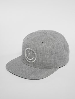 NEFF Snapback Cap Daily Smile grey