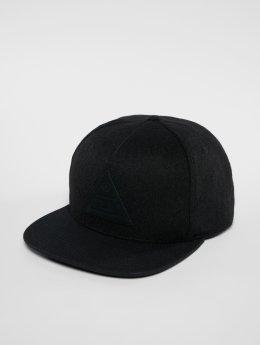 NEFF Snapback Caps Melton čern