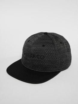 NEFF Snapback Caps Air Mesh šedá