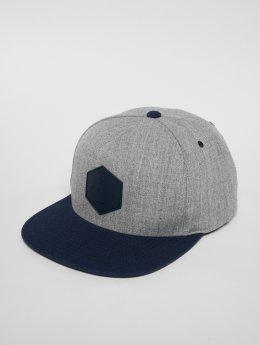 NEFF Snapback Caps Y šedá