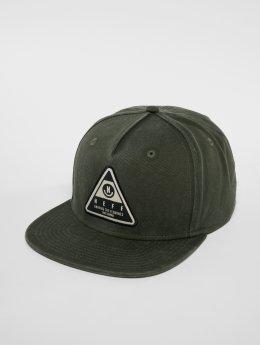 NEFF Snapback Caps X Wash zelený