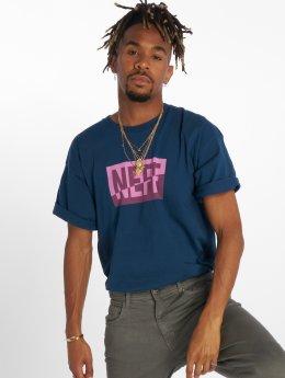 NEFF T-shirt New World blå