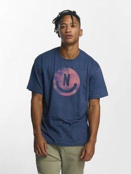 NEFF T-Shirt Smiley blau