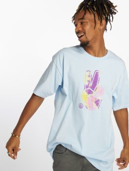 NEFF T-Shirt Peace Out blau