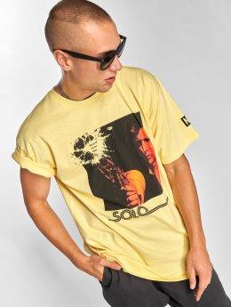 NEFF t-shirt Solo Odds geel