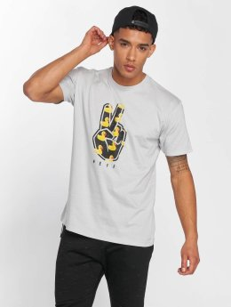 NEFF T-Shirt Peeace Out grau