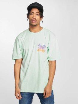 NEFF T-Shirt Go Away Wash green