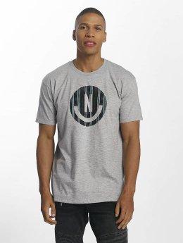 NEFF t-shirt Smiley grijs
