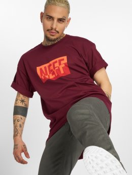 NEFF T-Shirt New World rouge