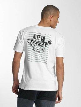 NEFF t-shirt Fire Dog wit