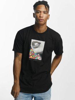 NEFF t-shirt Candy Lips zwart