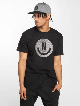 NEFF t-shirt Smiley zwart