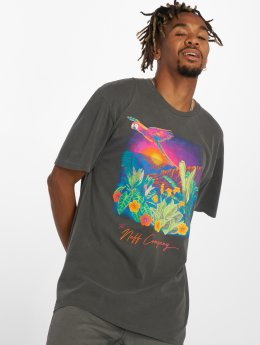 NEFF T-Shirty Paradise Cove Pigment czarny