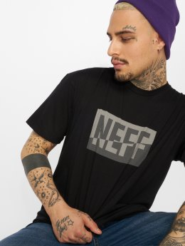NEFF T-Shirty New World czarny