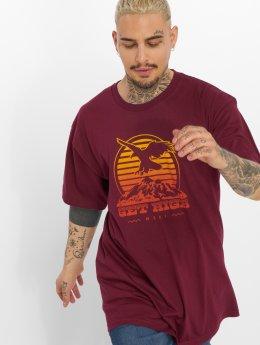 NEFF T-Shirty Get High czerwony