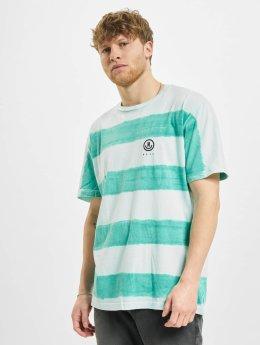 NEFF T-Shirty Spugetti Washed turkusowy