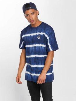 NEFF Tričká Faded Wash modrá