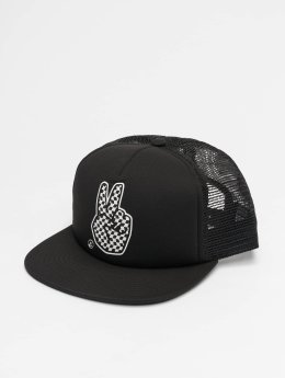 NEFF trucker cap Peace  zwart