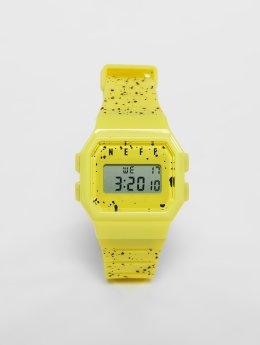 NEFF Männer,Frauen Uhr Flava in gelb