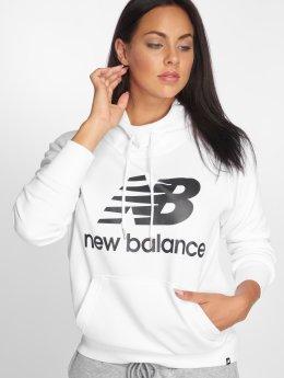 New Balance Bluzy z kapturem WT83563 bialy
