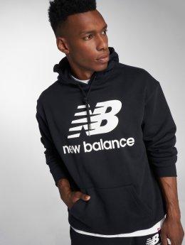 New Balance Bluzy z kapturem MT83585 czarny