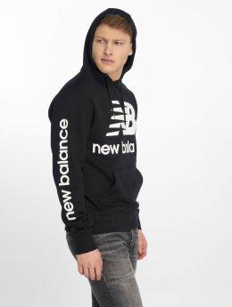 New Balance Bluzy z kapturem MT83586 czarny