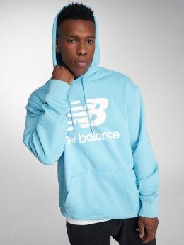 New Balance Bluzy z kapturem MT83585 niebieski