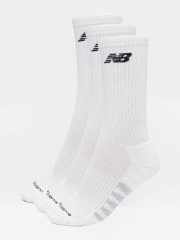 New Balance Chaussettes 6-Pack Core Unisex Low Cut blanc