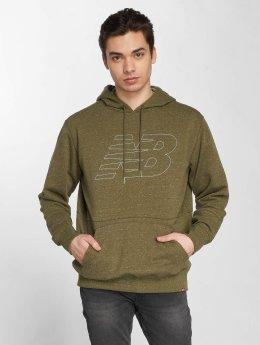 New Balance Hoodie MT81580 green