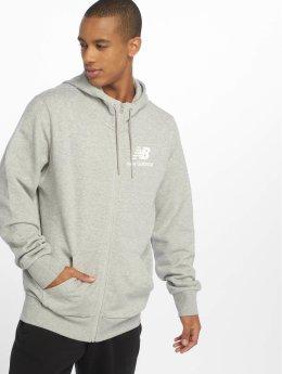 New Balance Hoodies con zip MJ83513 grigio