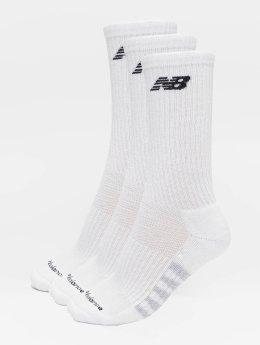 New Balance Ponožky 6-Pack Core Unisex Low Cut biela