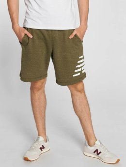 New Balance MS81536 Heather Shorts Cove Grey Heather