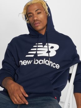 New Balance Sweat capuche MT83585 bleu