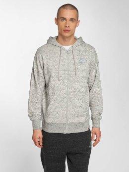 New Balance Sweat capuche zippé MJ81556 gris