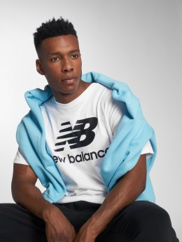 New Balance t-shirt MT83530 wit