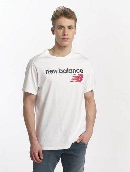 New Balance T-skjorter MT73581 hvit