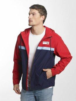New Balance Transitional Jackets MJ73557 Athletics red