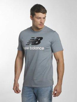 New Balance Tričká MT73587 Essentials modrá
