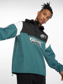 New Era Демисезонная куртка Nfl Colour Block зеленый