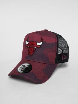 New Era Кепка тракер NBA Camo Colour Chicago Bulls камуфляж