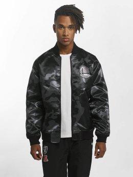 New Era Куртка-бомбардир BNG Golden State Warriors Sateen черный