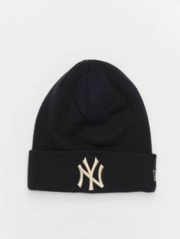 New Era Beanie MLB League Essential New York Yankees Cuff azul
