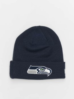 New Era Beanie NFL Team Essential Seattle Seahawks Cuff blå
