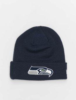 New Era Beanie NFL Team Essential Seattle Seahawks Cuff blå