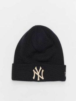 New Era Beanie MLB League Essential New York Yankees Cuff blau