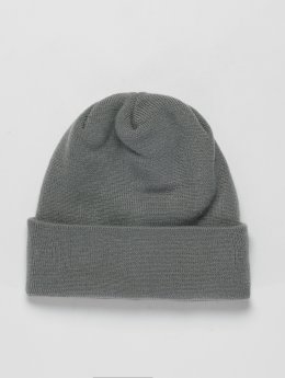 New Era Beanie Long Cuff grau