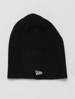 New Era Beanie Long Cuff nero