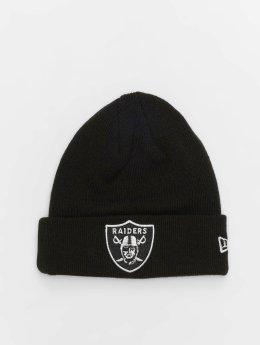 New Era Beanie NFL Team Essential Oakland Raiders Cuff nero