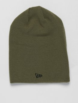 New Era Beanie Long Cuff olive
