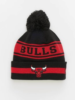 New Era Beanie NBA Team Jake Chicago Bulls Cuff svart
